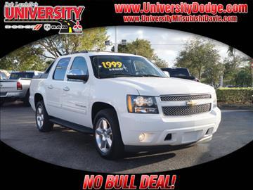 2011 Chevrolet Avalanche for sale in Davie, FL