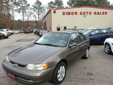 2000 Chevrolet Prizm for sale in Clayton, NC