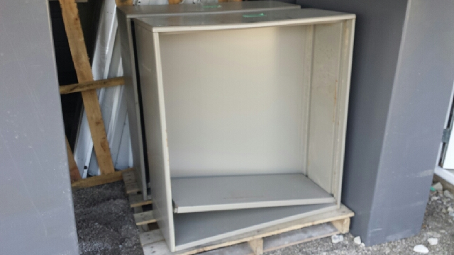 2007 AM General office cabinets/shelving