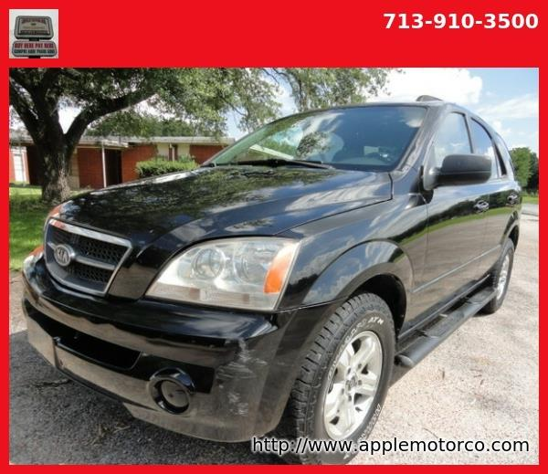 2004 Kia Sorento Ex 2wd In Houston Tx Apple Motor Co