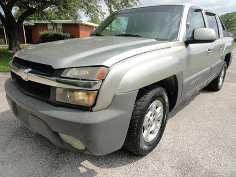 2003 Chevrolet Avalanche for sale in Houston, TX