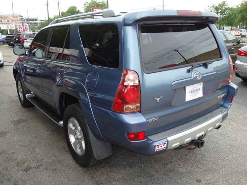 2004 Toyota 4Runner Limited 4WD 4dr SUV - Austin TX
