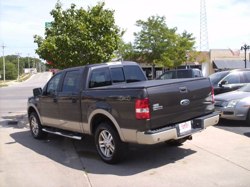 2007 Ford F-150 Lariat 4dr SuperCrew 4x4 Styleside 6.5 ft. SB - Webster City IA