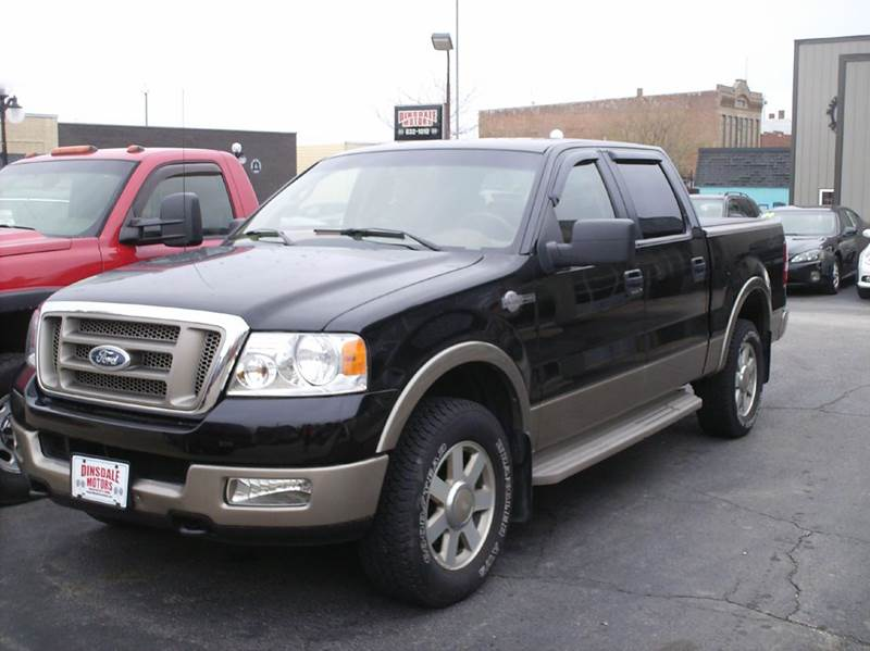2005 ford f 150 4dr supercrew king ranch 4wd styleside 5 5. Black Bedroom Furniture Sets. Home Design Ideas