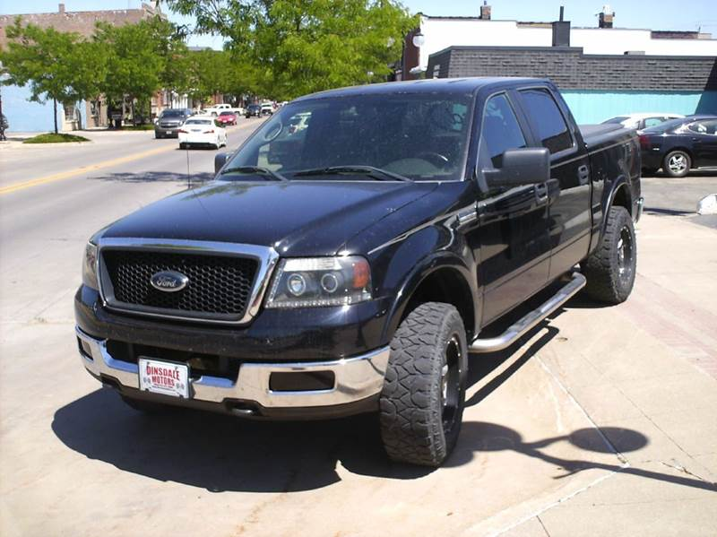 2005 Ford F-150 Lariat 4dr SuperCrew 4WD Styleside 5.5 ft. SB - Webster City IA