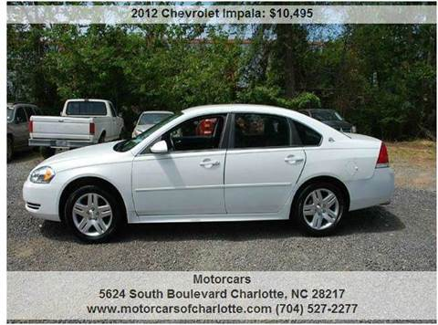 2012 Chevrolet Impala for sale in Charlotte, NC