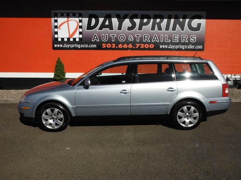 2005 Volkswagen Passat AWD 4dr GLS 1.8T Turbo 4Motion Wagon - Gresham OR