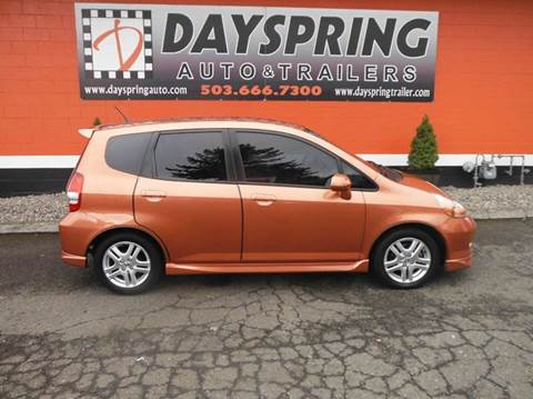 2007 Honda Fit for sale in Gresham OR