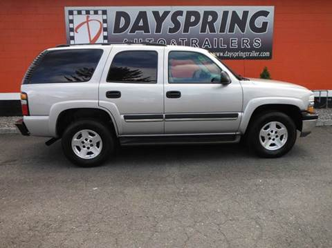 2004 Chevrolet Tahoe for sale in Gresham, OR