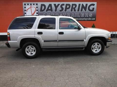 2004 Chevrolet Tahoe for sale in Gresham OR