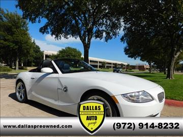 2007 BMW Z4 for sale in Carrollton, TX