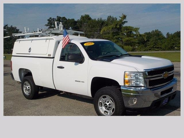 2012 Chevrolet Silverado 2500HD 4x4 Work Truck 2dr Regular Cab LB - Lakeview OH