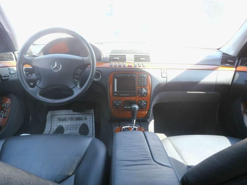 2002 Mercedes-Benz S-Class S430 4dr Sedan - Milwaukee WI