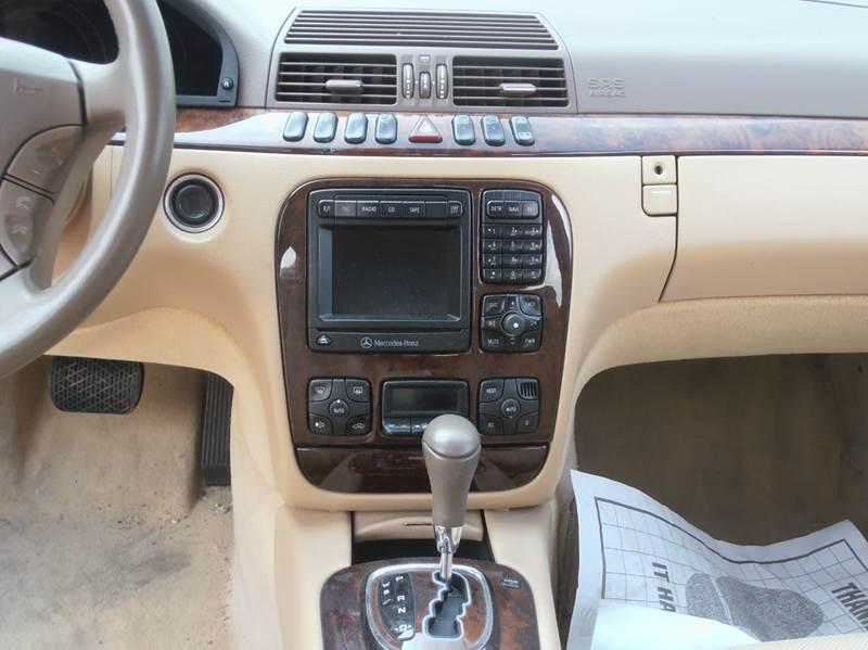 2001 Mercedes-Benz S-Class S500 4dr Sedan - Milwaukee WI