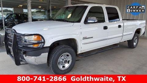 2002 GMC Sierra 2500HD for sale in Goldthwaite, TX