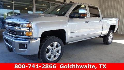 2017 Chevrolet Silverado 2500HD for sale in Goldthwaite TX