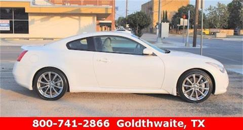 2009 Infiniti G37 Coupe for sale in Goldthwaite TX