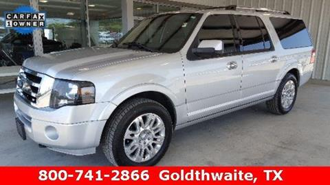 2013 Ford Expedition EL for sale in Goldthwaite, TX