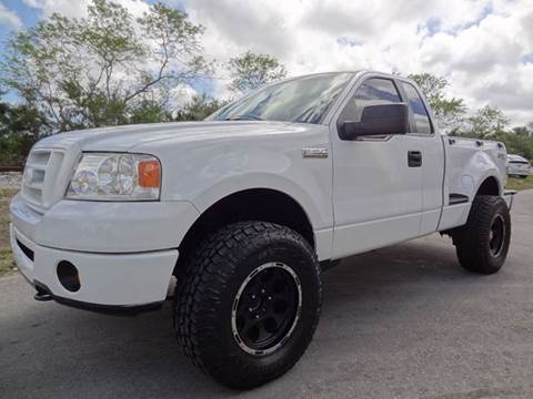 2007 Ford F150 LIFTED FLARESIDE 4X4