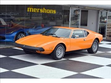 1974 De Tomaso Pantera for sale in Springfield, OH