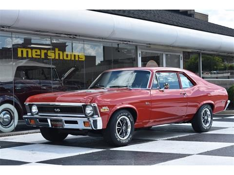 1972 Chevrolet Nova For Sale In Springfield, OH