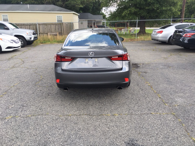 2014 Lexus IS 250 4dr Sedan - Spartanburg SC