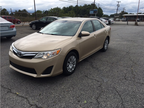 2012 Toyota Camry for sale in Spartanburg, SC