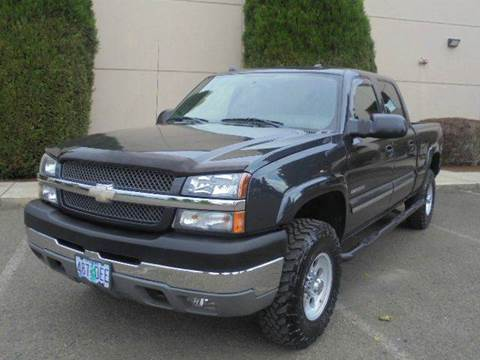 2004 Chevrolet Silverado 2500HD for sale in Hubbard, OR