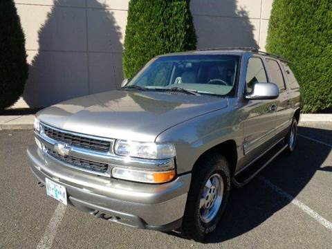 2000 Chevrolet Suburban for sale in Hubbard, OR