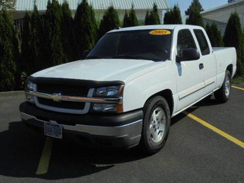 2005 Chevrolet Silverado 1500 for sale in Hubbard, OR