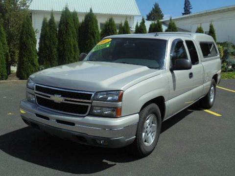 2007 Chevrolet Silverado 1500 Classic for sale in Hubbard, OR