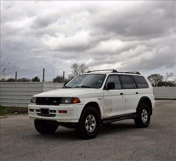 1999 Mitsubishi Montero Sport for sale in Pasadena, TX