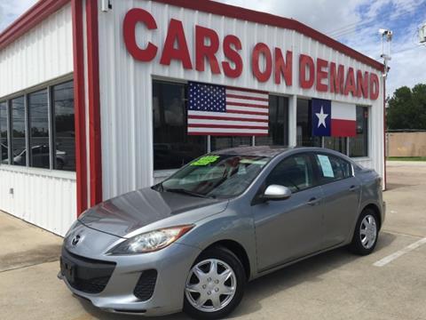 2012 Mazda MAZDA3 for sale in Pasadena, TX