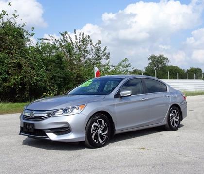 2016 Honda Accord for sale in Pasadena, TX