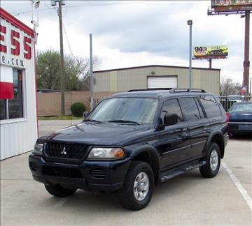 2003 Mitsubishi Montero Sport for sale in Pasadena, TX