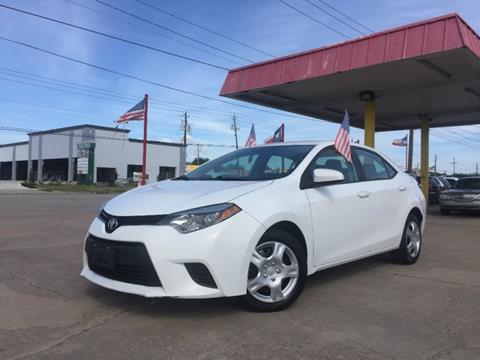 2014 Toyota Corolla for sale in Pasadena, TX