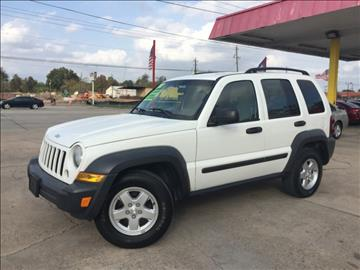 2007 Jeep Liberty for sale in Pasadena, TX