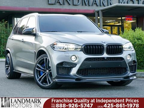 2015 BMW X5 M for sale in Bellevue, WA