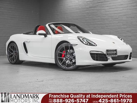 2014 Porsche Boxster for sale in Bellevue, WA
