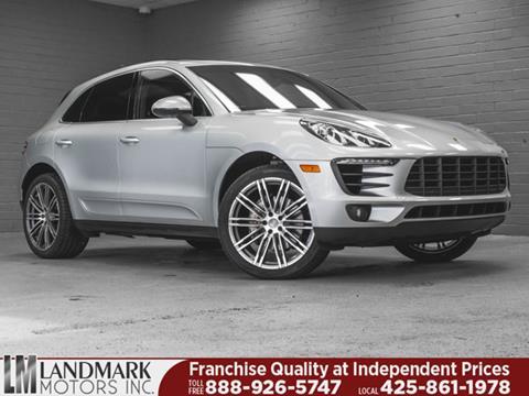2016 Porsche Macan for sale in Bellevue, WA