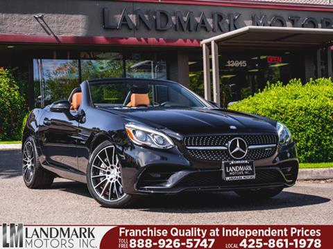 2017 Mercedes-Benz SLC for sale in Bellevue, WA
