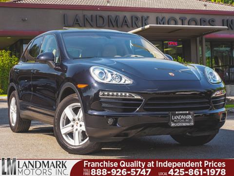 2014 Porsche Cayenne for sale in Bellevue, WA