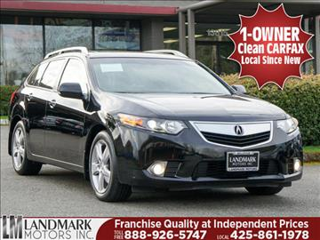 2013 Acura TSX Sport Wagon for sale in Bellevue, WA