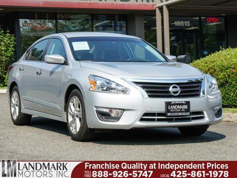 2014 Nissan Altima for sale in Bellevue, WA