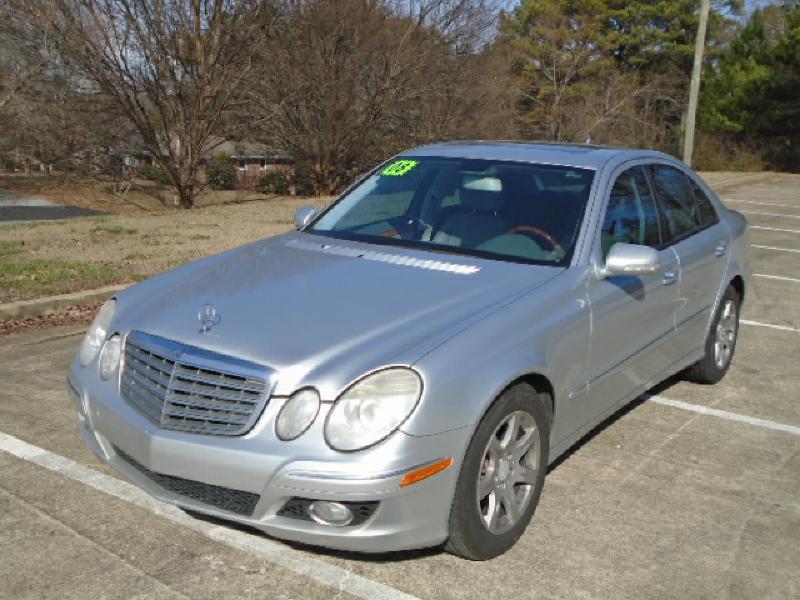 2008 mercedes benz e class e 320 bluetec 4dr sedan in for Mercedes benz in atlanta ga