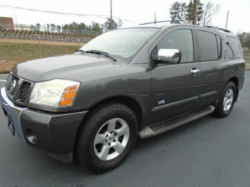 2007 nissan armada for sale in georgia. Black Bedroom Furniture Sets. Home Design Ideas