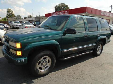 2000 Chevrolet Tahoe Limited/Z71 for sale in Norcross, GA