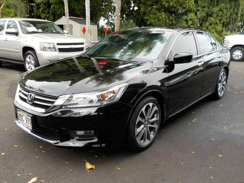 2015 Honda Accord Sport 4dr Sedan CVT - Hilo HI
