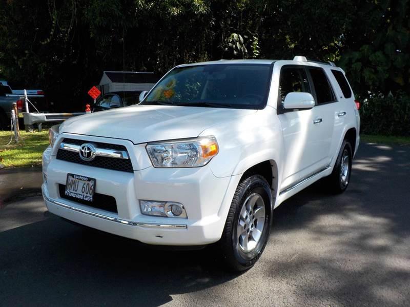 2011 Toyota 4Runner 4x2 SR5 4dr SUV - Hilo HI