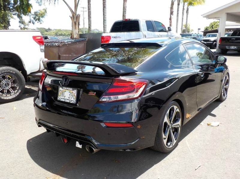 2015 Honda Civic Si 2dr Coupe w/Summer Tires and Navi - Hilo HI